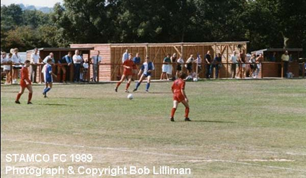 STAMCO Sussex County League match at Pannel Lane, Pett. 1989