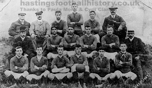 Hastings & St Leonards United 1908-09